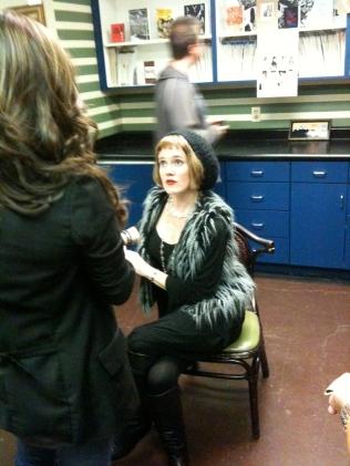 Met Kimberly Wilson-- The Beat 2010