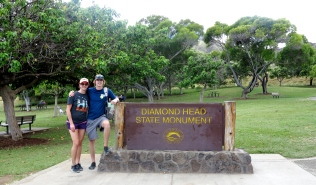 Diamond Head Hike, Hawaii