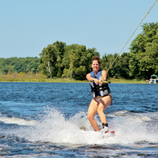 Wakeboarding-- Northern MN 2010