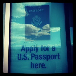 Applied for my Passport-- NV 2012